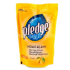 Pledge Semir Perabotan Lemon