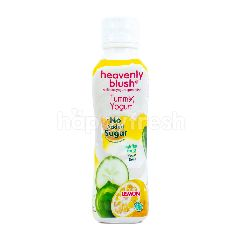 Heavenly Blush Minuman Yogurt Tinggi Serat Rendah Lemak Lemon