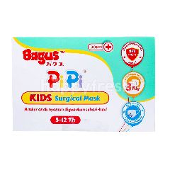 Bagus PiPi Kids Surgical Mask 5-12th 3ply (30 pieces)