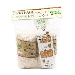 LOVE EARTH Twin Pack Organic Rolled Oat