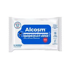 Alcosm Disinfectant Wipes (10 Sheets)
