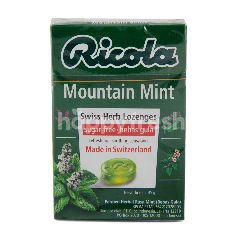 Ricola Mountain Mint