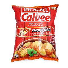 Jack N Jill Calbee Smoky Bbq Flavoured Potato Chips