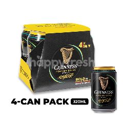 Guinness Stout Beer Cans (4x320ML)