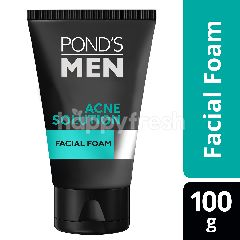 Pond's Men Facial Foam Acne Solution 100g