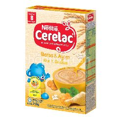 Cerelac Infant Cereal Rice & Chicken 250G