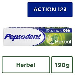 Pepsodent Action 123 Herbal Toothpaste