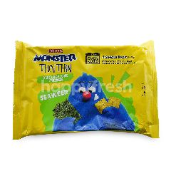 Mamee Seaweed Monster Thin Thin Cracker