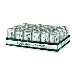Carlsberg Smooth Draught Can Beer (24x320ML)