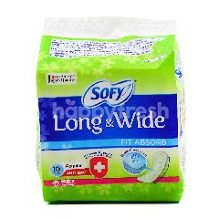 Sofy Long & Wide Pantyliners (10 Liners)
