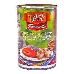CINDY`S RECIPE Favourite Wild-Caught Tuna With Fresh Salmon