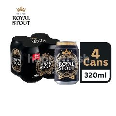 Royal Stout Beer Can (320ml x 4)