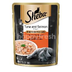 Sheba Pouch Cat Wet Food Adult Tuna Salmon 70G Cat Food