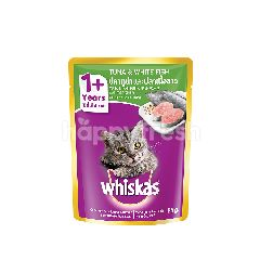 Whiskas Pouch Cat Wet Food Adult Fresh Fish Tuna & White Fish 85G Cat Food