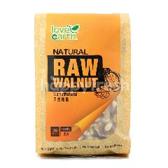 LOVE EARTH USA Raw Walnut