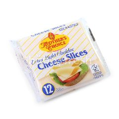 Mother's Choice Extra Light Cheddar Cheese Slices