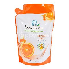 Shokubutsu Clean Fresh ShowerFoam - Orange Zest