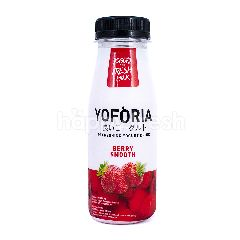 Yoforia Minuman Yogurt Rasa Berry Smooth