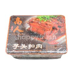 Braised Fried Pork Belly With Yam