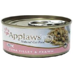 Applaws (Cat) Tin Tuna Fillet With Prawn 156g