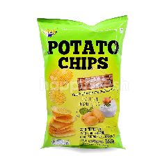 NOI Cream & Onion Potato Chips