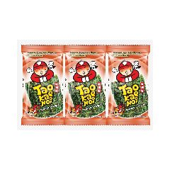 Tao Kae Noi Spicy Flavoured Roasted Seaweed (3 Pieces)