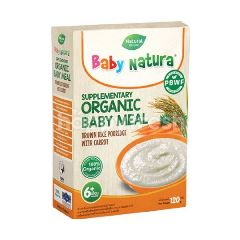 Baby Natura Organic Brown Rice Porridge - Pumpkin (120g)