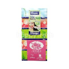 Kleenex Value Pack Brand Facial Tissues 3 Ply (4x100 Sheets)