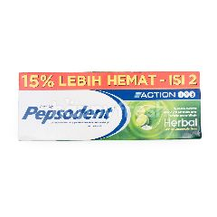 Pepsodent Action Herbal Kemasan Promo
