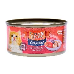 CINDY RECIPE Tuna White Meat With Salmon Cat Food