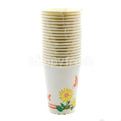 Muster Traders 9 Inch Printed Paper Cups 20 Pieces