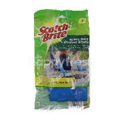 Scotch-Brite Heavy Duty Outdoor Gloves - Fresh Lemon Scent ( 1 Pair)