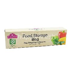 TOPVALU Large Food Storage Bag (20 Bags)