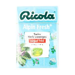 Ricola Sugar Free Alpin Fresh Candy