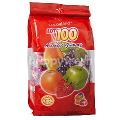 Cocoaland Lot 100 Assorted Gummy