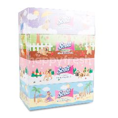 Scott Facial Tissue 115 Sheets (4 Boxes)