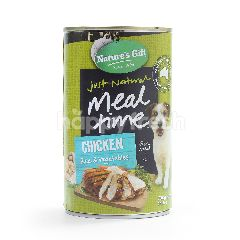 Nature's Gift Chicken, Rice & Vegetable Dog Food 700g