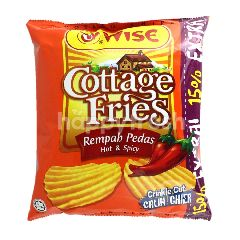 Wise Cottage Fries Hot n' Spicy Potato Chips