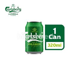 Carlsberg Danish Pilsner Beer Can (320ml)