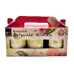 Country Farm Organics Biogold Organic Honey (3 Packs)