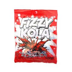FIZZY Cola Cola Flavoured Candies With Fizzy Centres