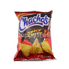 Kraft Foods Chachos Spicy Curry Corn Chips