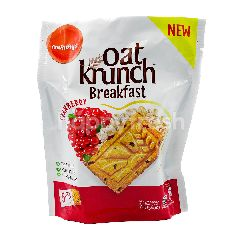 Munchy's Cranberry Oat Crunch Breakfast