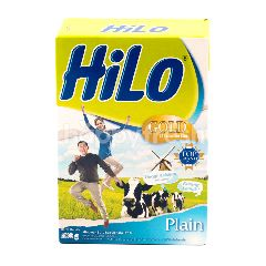 HiLo Gold High Calcium and Less Fat Powdered Plain Milk 51 Years Old