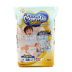 Mamypoko Extra Dry Pants Baby Diapers Large Size (38 Pieces)