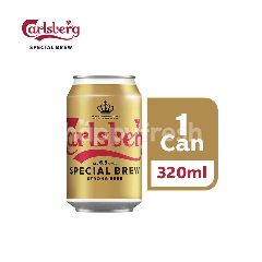 Carlsberg Special Brew Strong Lager Beer Can (320ml)