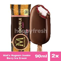 Wall's Magnum Double Berry Ice Cream Twinpack