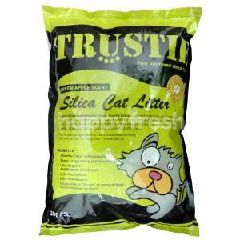 Trustie Silica Cat Litter (Green Apple) 5L (2Kg)