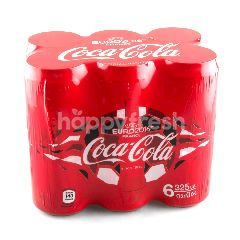 Coca-Cola Coke Can 325 ml (Pack 6)