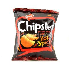 TWISTIES Chipster Potato Chips Hot & Spicy